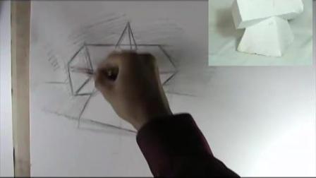 水彩画教程 少儿绘画 儿童画教学 卡通画 水彩水粉画_标清山水风景画