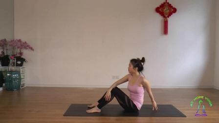 腰腹减脂瑜伽练习