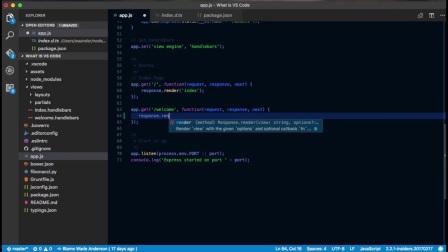 VS Code - IntelliSense