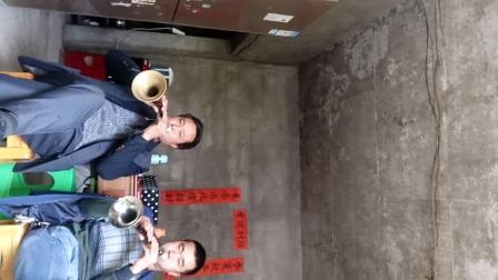 黔江区中塘乡双石村民间唢唢呐张师傅吴师傅