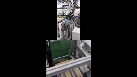 牙刷牙膏行业-超群PMC牙刷烫印连线一体机