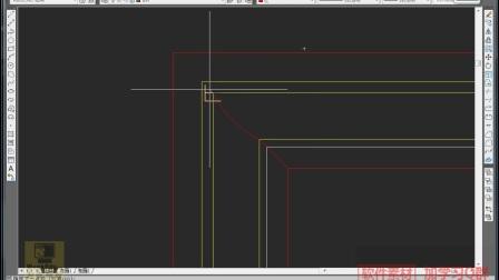 CAD教程,CAD学习视频,室内设计,CAD-户型客厅C立面图的绘制