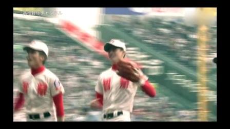 選抜高校野球2016 準決勝 智弁学園vs龍谷大平安 智弁学園ファインプレー センターのバックホームでタッチアウト (1)