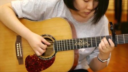 涂涂《女儿情》朱丽叶指弹吉他弹唱