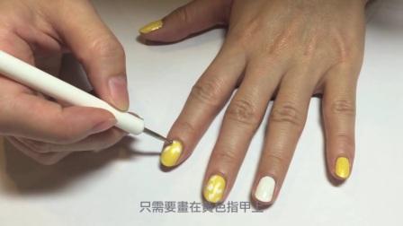 【美甲速成】豹纹 指甲彩绘教程视频