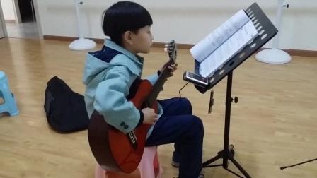 学生作品展 吉他 独奏 陈俊迟 小蜜蜂.