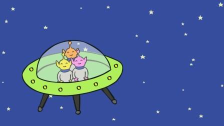 原版英文绘本学英语 | 廖彩杏书单 04-1 Five Little Men In A Flying Saucer