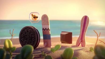 饼干和巧克力的故事 吉百利与奥利奥新品 创意广告动画短片 Cadbury & Oreo
