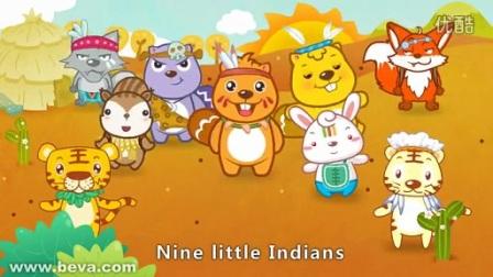 ten little indians—英文儿歌_标清