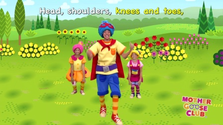 Mother Goose Club - Head Shoulders Knees and Toes