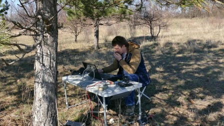 Field day with SunSDR2 PRO