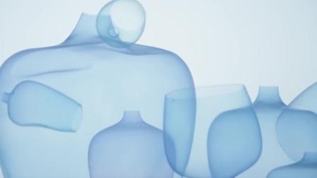 Nendo bases super-thin silicone vase on jellyfish.mp4