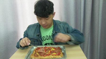 28.帆薯的光明料理 :培根芝士方形披萨