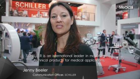 瑞士席勒Schiller:同Medicalexpo在线医疗展一路同行