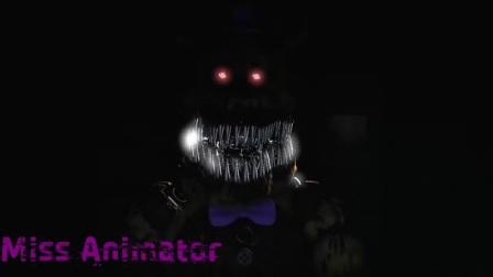 [FNAF SFM] Nightmare Fredbear 的声音 _David near_-哔哩哔