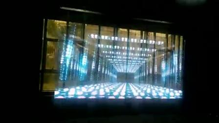 LED透明全息显示屏上海劢鸿电子