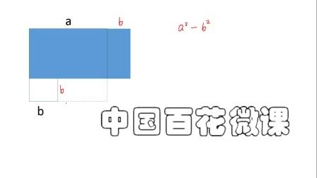 平方差公式的几何意义(刘永春).mp4