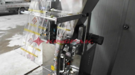 10 HP150P Back Seal Automatic spices powder packing machine Stainless Steel.flv