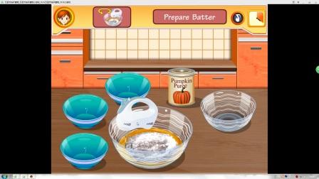 【莎拉厨艺课】:万圣节纸杯蛋糕