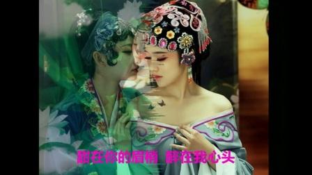 高安 纳兰珠儿《花桥流水》配古典美女图片