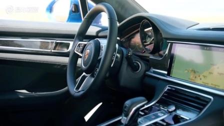 新保时捷panamera 4 e-hybrid 细节实拍zj0 爱卡汽车 每周车闻播报