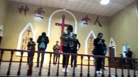 召陵基督教复活节舞蹈使徒信经