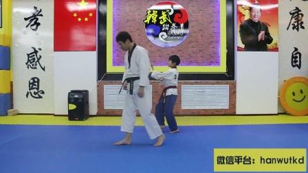 跆拳道品势【太极七章】解析