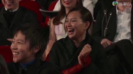 【第36屆香港電影金像獎頒獎典禮 】頒獎嘉賓邵音音,陳靜(DADA)爆笑話拍戲時一件衫都冇得著