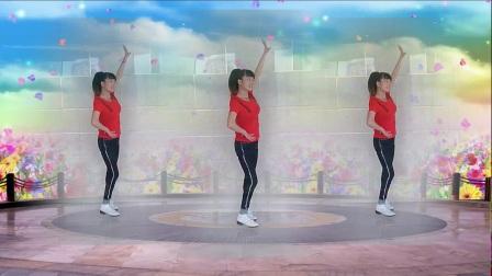 天使玉儿广场舞《错过你是我的错》编舞:陈敏