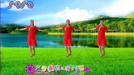 广晋广场舞《八百里洞庭我的家》民族舞风格