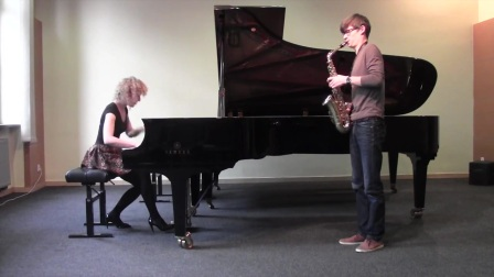 William Albright - Sonata for saxophone and piano (MagDus Duo).mp4
