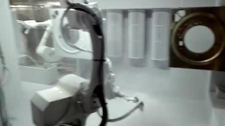 4号喷粉机械手喷粉机器人