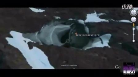 谷歌地球上发现三处疑似UFO基地,其中两处一起对比惊人相似