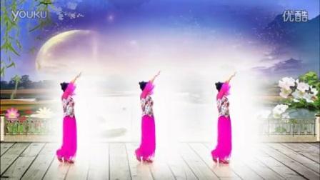 广场舞【对着月亮说声我爱你】编舞:世外桃源_标清.mp4