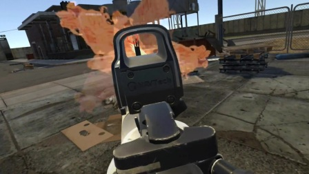 【5068VR游戏】虚拟战士Virtual Warfighter游戏VR视频体验