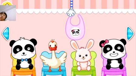 亲子游戏:宝宝幼儿园,认识动物,动手动脑,益智游戏,朵朵玩游戏