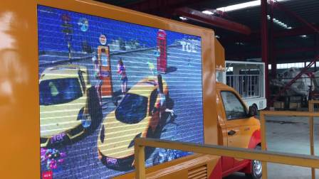 福田伽途LED广告车 宣传车工作视频