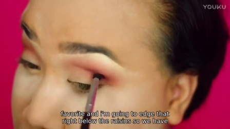 【PatrickStarrr】让你的眼睛自然发射出粉红色的电波@唯美美妆
