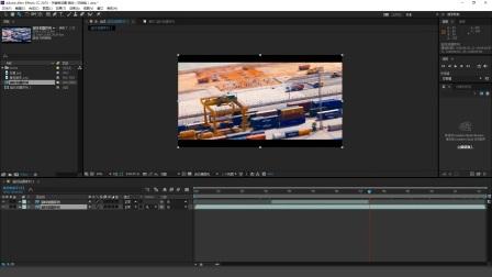 ae视频制作教程-AE合成窗口-缩放,网格,参考线使用-ae相机教程