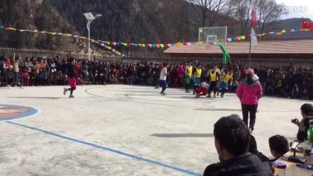 甘南藏族自治州卓尼县车巴沟篮球赛