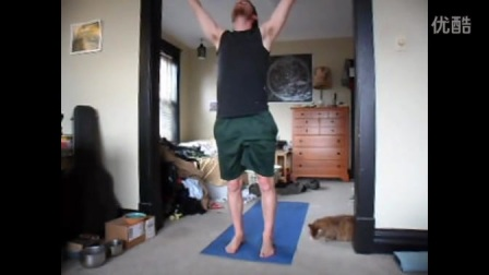 Yoga for begginner Mullet Yoga for men高清