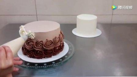 巧克力奶油蛋糕超详细制作流程,喜欢烘焙的可以学学