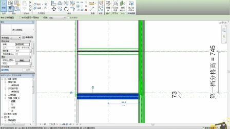 revit幕墙嵌板族绘制单元体幕墙教程-生成明细表(未央夜作品)