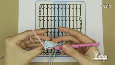 6-4竖条长针织片的换线方法