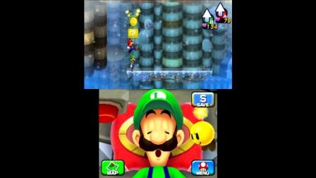 【雪激凌解说】3DS马里奥与路易RPG4 EP21:气候路易联动与路易大锤