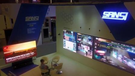InfoComm China2017展会 三思用无人机展示第一人称视角技术