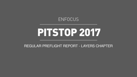 PitStop 2017 new features