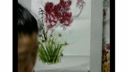 琴声诗画研究国画牡丹班3期27牡丹与水仙讲.mp4