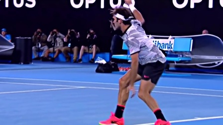 Roger Federer ~ Religious Experience AO17 Cover 费德勒-宗教的体验 ~ 澳网2017版