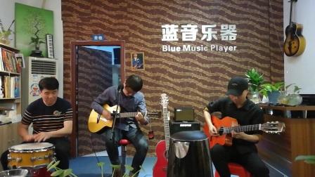 一块红布吉他 民治蓝音吉他教室